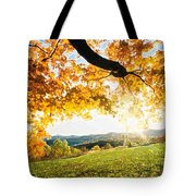 Abstract Summer Sunset. Tote Bag