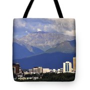 Anchorage Skyline Tote Bag