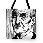 Anton Bruckner (1824-1896) Tote Bag