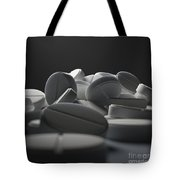 Aspirin Tablets Tote Bag