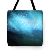 Aurora Borealis Tote Bag by Setsiri Silapasuwanchai