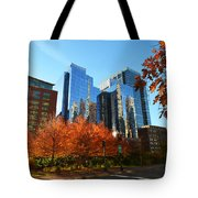 Autumn In Boston Tote Bag