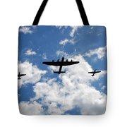 Battle Of Britain Memorial Flight Tote Bag