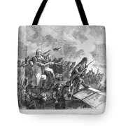 Battle Of Stony Point, 1779 Tote Bag