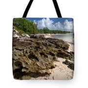 Beach At Coco Cay Tote Bag