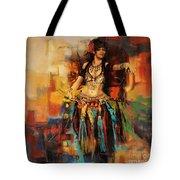 Belly Dancer 9 Tote Bag