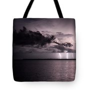 4 Bolts Over Captiva Island Tote Bag