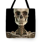Bones Of The Head And Upper Thorax Tote Bag