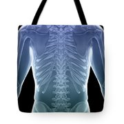 Bones Of The Torso Tote Bag