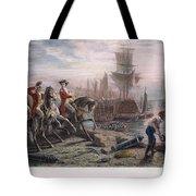 Boston: Evacuation, 1776 Tote Bag