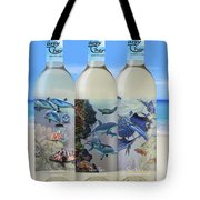 Carey Chen Fine Art Wines Tote Bag