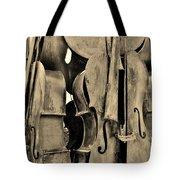 4 Cellos Sepia Tote Bag