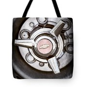 Chevrolet Wheel Emblem Tote Bag