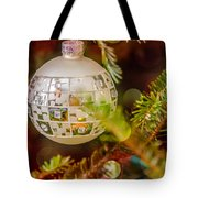 Christmas Tree Ornaments And Decorations Tote Bag