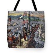 Christopher Columbus (1451-1506) Tote Bag