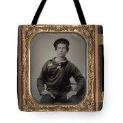 Civil War Sailor, C1863 Tote Bag