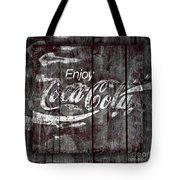 Coca Cola Sign Tote Bag
