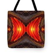 Color Fashion Abstract Tote Bag