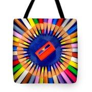 Colorful Pencils Tote Bag