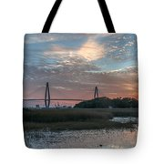 Charleston Cooper River Bridge Tote Bag