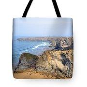 Cornwall - Bedruthan Steps Tote Bag