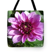 Dahlia Named Blue Bell Tote Bag