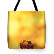 Daisies In A Vase On Shelf Tote Bag