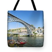 Dom Luis Bridge Porto Portugal Tote Bag