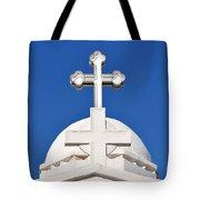 Dome Of Agios Georgios Chapel Tote Bag
