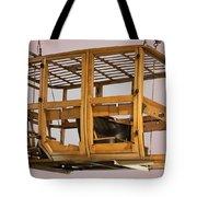 4 Door Vehicle Wood Frame Tote Bag