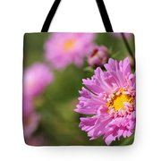 Double Click Cosmos Named Rose Bonbon Tote Bag