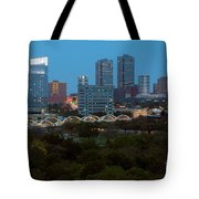 Downtown Fort Worth Texas Tote Bag