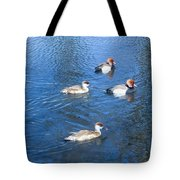 4 Duck Pond Tote Bag