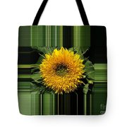 Dwarf Sunflower Named Teddy Bear Tote Bag