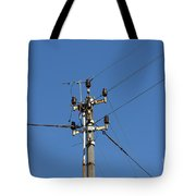 Electric Pylon Tote Bag