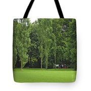 English Garden Munich Germany Tote Bag