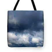 Escaping The Storm Tote Bag