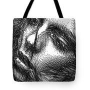 Facial Expressions Tote Bag