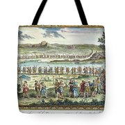 Flagellants Middle Ages Tote Bag