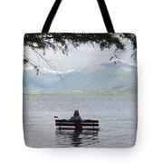 Flooding Lake Tote Bag