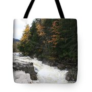 Franconia Notch White Mountians Tote Bag
