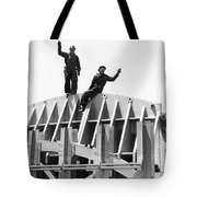 Ggb Tower Under Construction Tote Bag