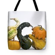 Gourds And Pumpkins Tote Bag
