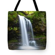 Grotto Falls Tote Bag