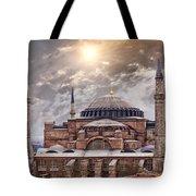 Hagia Sophia Istanbul Tote Bag