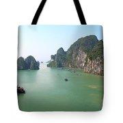 Halong Bay In Vietnam Tote Bag