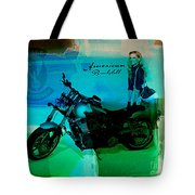 Harley Davidson Ad Tote Bag