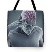 Head Ache Tote Bag