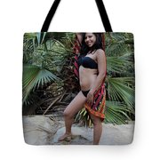 Hispanic Beauty Tote Bag