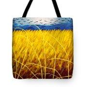 Homage To Van Gogh Tote Bag by John  Nolan